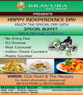 Bravura Gold Resort Wish You a Very Happy Independence Day !!!