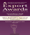 Annual Export Award Function (2012-13 | 2013-14 | 2014-15)