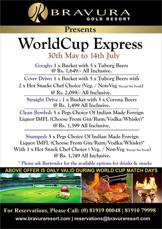 WorldCup Express Special Offers