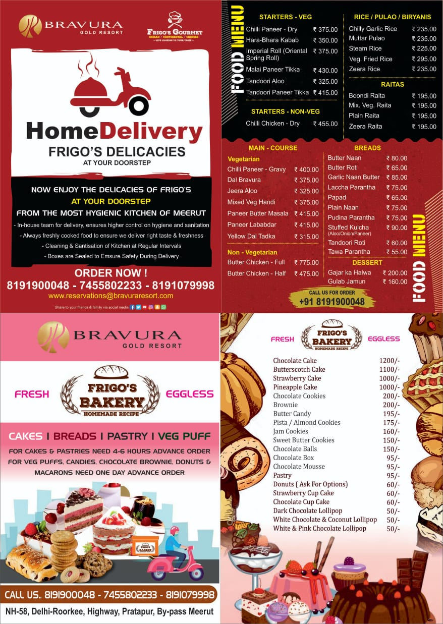 Frigo's Gourmet Delicacies & Bakery at Your Doorstep