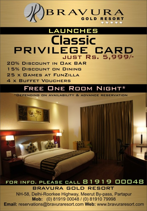 Classic Privilege Card with new offers just at Rs. 5,999/-